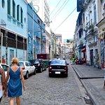 Walking through Rio