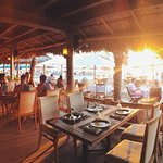Sunsets are magical at Vista Grill on the beach