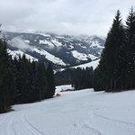 Local ski area, Auffach Home Run