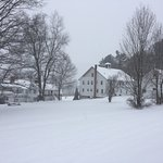 The Inn including the Carriage House in the snow Dec 2016