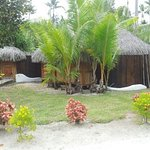 Vue extérieure du bungalow