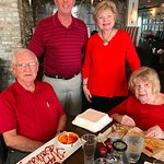 Birthday Luncheon for my stepfather who turned 91!