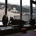 Aussicht aus dem Yogaraum