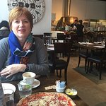 Amazing Pizza !fast service! The pizza crust was thin and crispy! We felt we were in Italy ! We