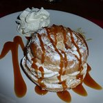Une excellente déclinaison du Paris-Brest parmi les desserts du menu.