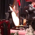 The harpist-Melodies of Christmas