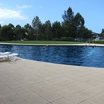 A great outdoor pool to cool off in summer.