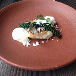 John Dory with Coconut mousse