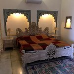 Spacious room with heritage decor