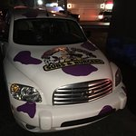 The Purple Cow Car is Cool