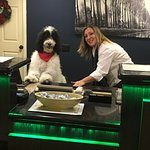 The friendliest hotel in town. Deserae let our dog work the front desk with her. She is the best