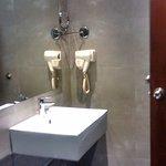 Has all the basic +1 facilities - including a hair dryer