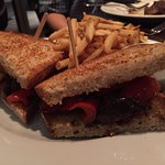 Roasted Vegetable Sandwhich