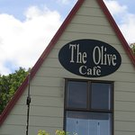 Olive Café in town. Lovely food and people