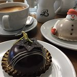 A fun festive masterpiece from the fabulous Patisserie Brione that you won't find anywhere else.