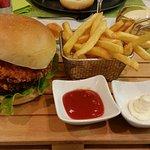 Burger sehr lecker!
