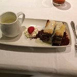 Bread & Butter Pudding (chocolate & Cointrau)