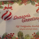 Seasonal placemat