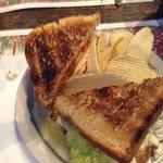 Chicken Salad Sandwich with Chips