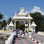 Nagadeepa vihara entrance