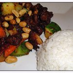 Kung Pao chicken that was surprisingly flavorful and delicious