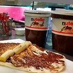 nutella mascarpone e banana