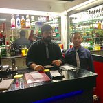 MIAH AND STAFF AT RED PEPPER OTLEY