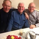 'LOTSW' STEPHEN C / MIKE / JOHN AFTER DINNER AT RED PEPPER OTLEY