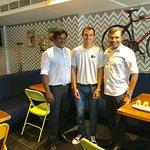 With Gurucharan and Dyalon