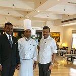 With Sagar & Chef Arun