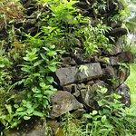 レル遺跡の石組み