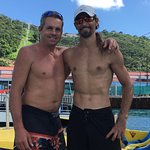 Mike, left and Max, right. Both great guys and made the day one never to forget. great dives & d