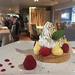 Tarte crème Citron Framboise Meringuée faite maison