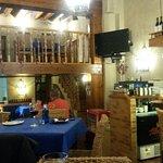 internal area of restaurant