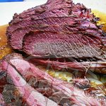 This is the most tender and delicious brisket we've ever eaten.