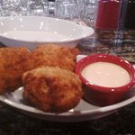 Deep fried Mac & Cheese balls