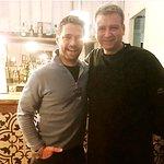 Beverly Hills 90210's Jason Priestly with chef Jose Salgado