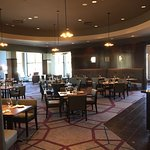 Our recently renovated dining room offers buffet breakfast and a la carte lunch and dinner daily