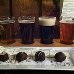 Famous beer/truffle pairing.
