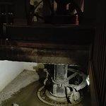L'ancienne roue du moulin