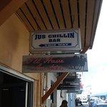 the bar next door is local
