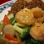 Shrimp with Vegetables (Camarones con vegetales)