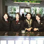 All the hotel's staff are very kind, very friendly, care and very helpful for your needs.