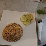 Chinese Fried Rice and Ice Lime