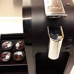 Coffee machine with complimentary capsules!