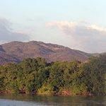 Sierra Madre del Sur from Laguna de Manialtepec
