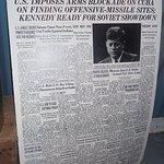 A lot of Kennedy memorabilia