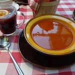 Hungarian goolash, and mulled wine