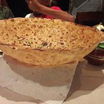 Giant Masala Papad, one of the star attraction of the restaurant