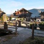 """Berg-Chalet Nr. 2 - Schmöllern - Ausblick vom Lieblingsplatz vor der """"Hütte"""" auf Premium Chalets"""